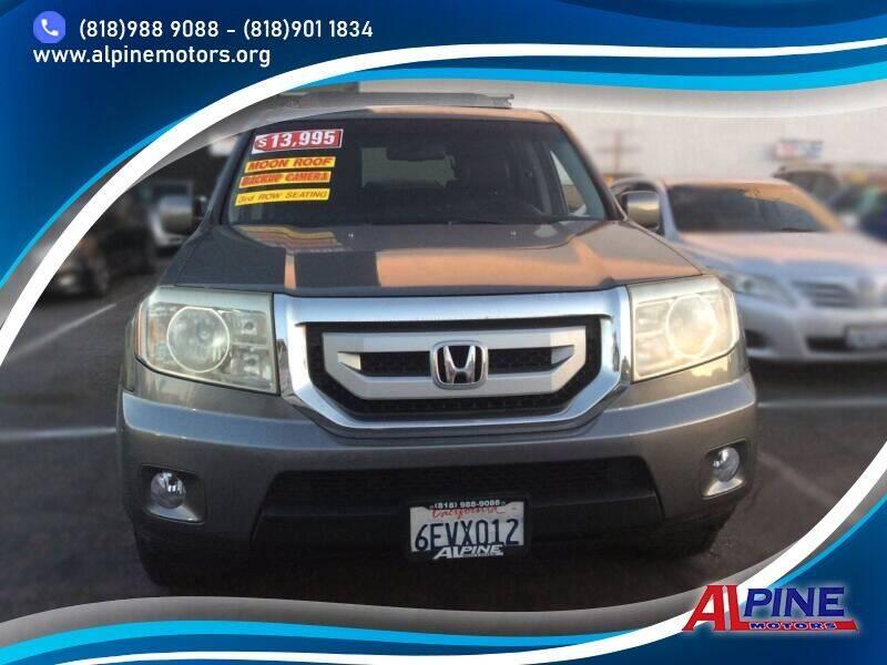 2009 Honda Pilot for sale at Alpine Motors in Van Nuys CA