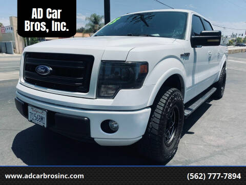 2013 Ford F-150 for sale at AD Car Bros, Inc. in Whittier CA