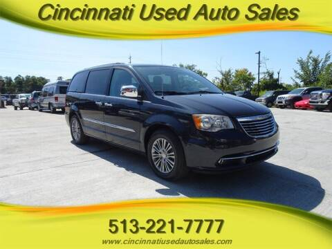 2014 Chrysler Town and Country for sale at Cincinnati Used Auto Sales in Cincinnati OH