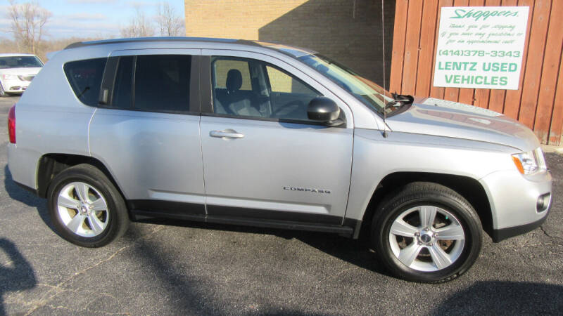 2012 Jeep Compass for sale at LENTZ USED VEHICLES INC in Waldo WI