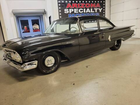 1960 Chevrolet Biscayne for sale at Arizona Specialty Motors in Tempe AZ