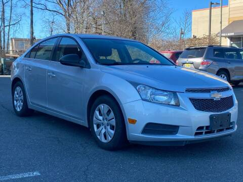 2012 Chevrolet Cruze for sale at MAGIC AUTO SALES in Little Ferry NJ