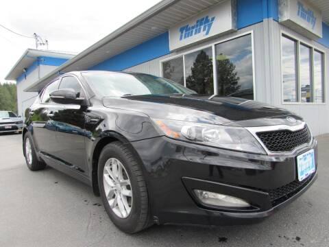 2013 Kia Optima for sale at Thrifty Car Sales SPOKANE in Spokane Valley WA