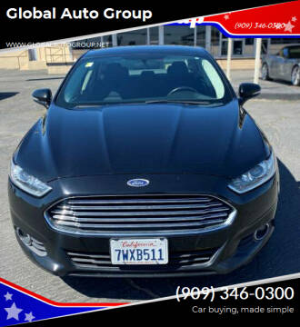 2016 Ford Fusion for sale at Global Auto Group in Fontana CA