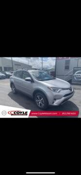 2018 Toyota RAV4 for sale at COYLE GM - COYLE NISSAN - New Inventory in Clarksville IN