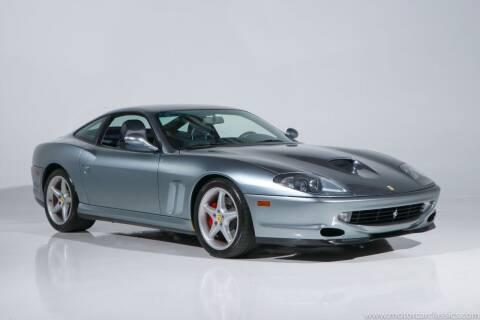 1999 Ferrari 550 for sale at Motorcar Classics in Farmingdale NY