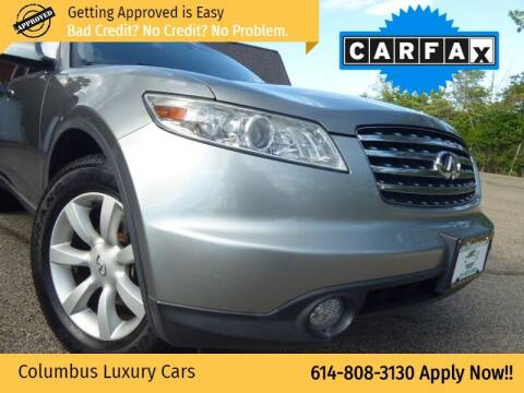2005 Infiniti FX35 for sale at Columbus Luxury Cars in Columbus OH