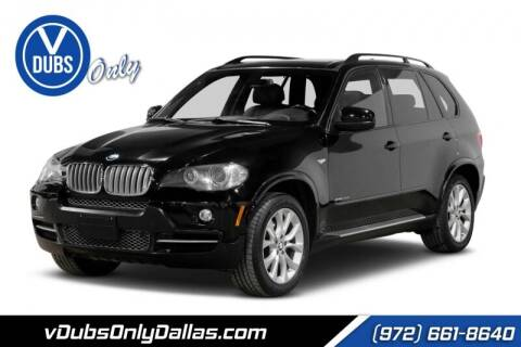 2009 BMW X5 for sale at VDUBS ONLY in Dallas TX