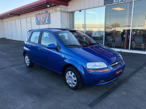 2007 Chevrolet Aveo for sale at WILLIAMS AUTO SALES in Green Bay WI