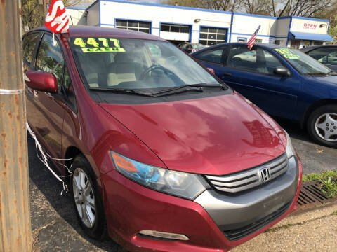 2010 Honda Insight for sale at Klein on Vine in Cincinnati OH