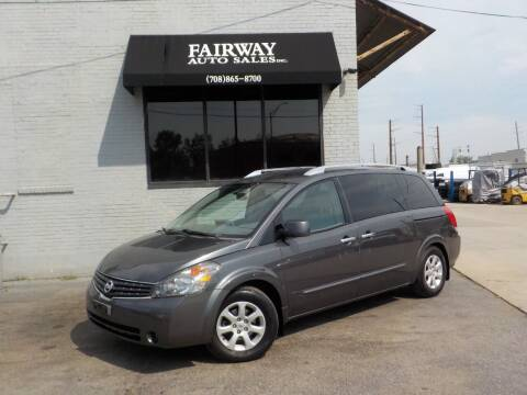 2008 Nissan Quest for sale at FAIRWAY AUTO SALES, INC. in Melrose Park IL
