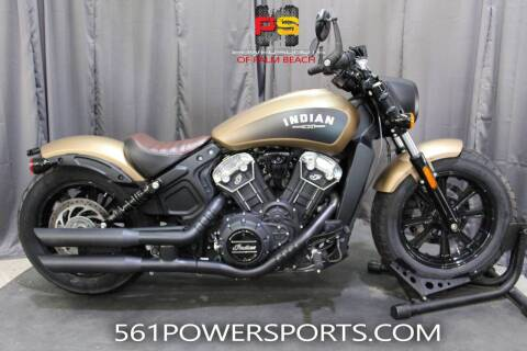 2019 Indian Scout® Bobber ABS for sale at Powersports of Palm Beach in Hollywood FL