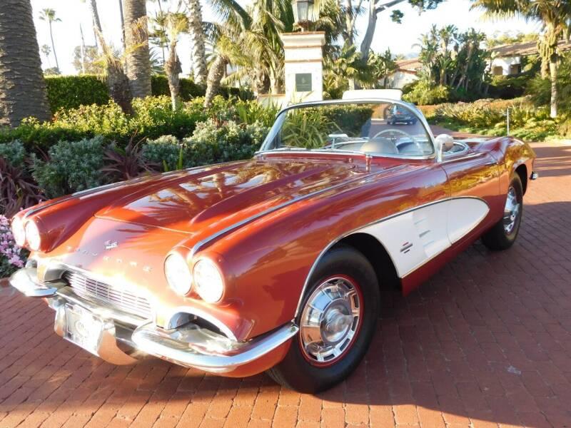 1961 Chevrolet Corvette for sale at Milpas Motors in Santa Barbara CA
