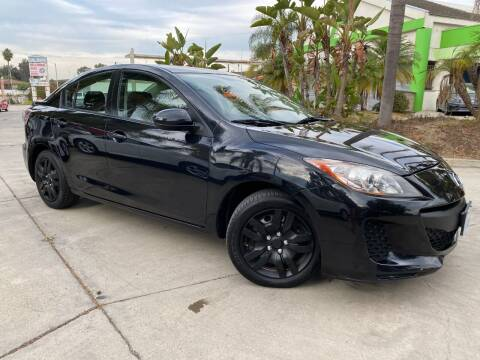 2012 Mazda MAZDA3 for sale at Luxury Auto Lounge in Costa Mesa CA