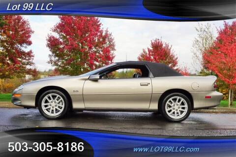 2002 Chevrolet Camaro for sale at LOT 99 LLC in Milwaukie OR