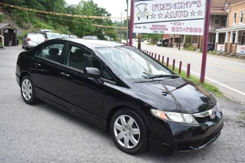 2010 Honda Civic for sale at Frenchy's Auto LLC. in Pittsburgh PA