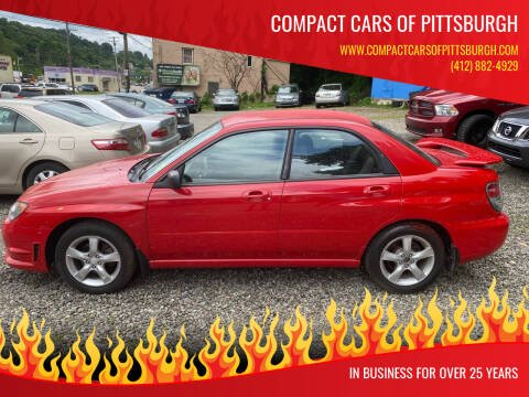 2006 Subaru Impreza for sale at Compact Cars of Pittsburgh in Pittsburgh PA