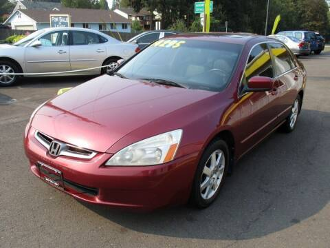 2005 Honda Accord for sale at Yellow Line Motors in Lafayette OR