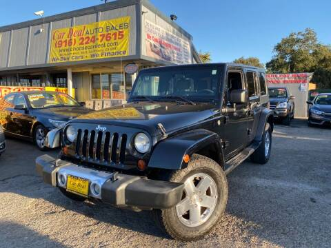 2008 Jeep Wrangler Unlimited for sale at Car Deal Auto Sales in Sacramento CA