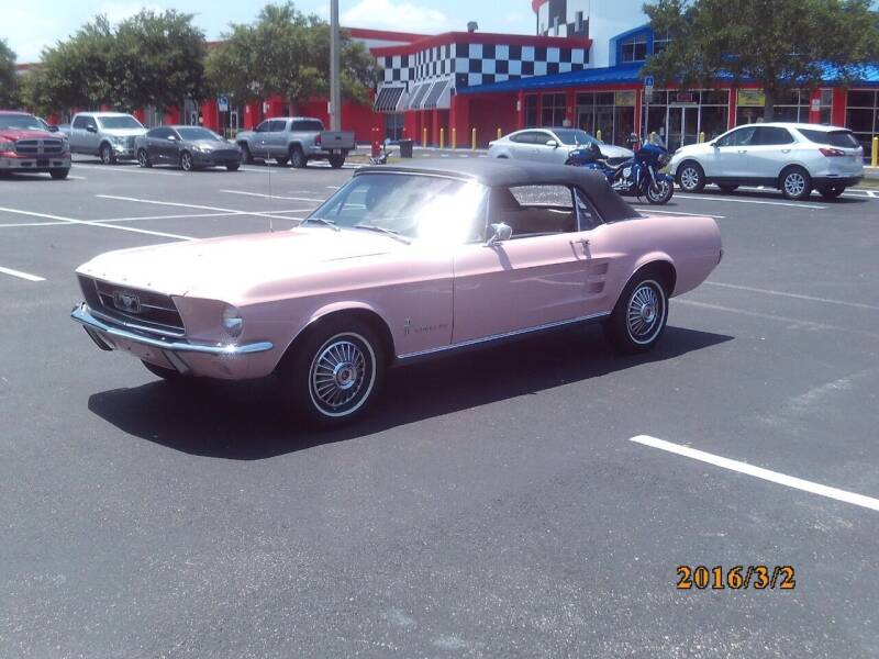 1967 Ford Mustang for sale at MUSCLE CAR CITY LLC in Punta Gorda FL