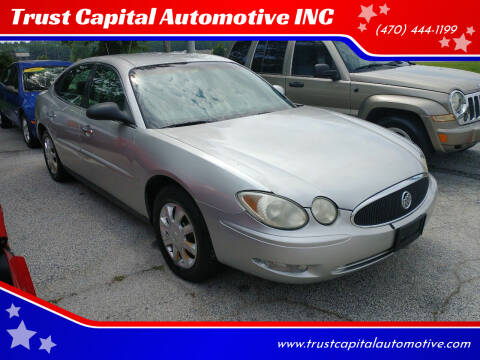 2006 Buick LaCrosse for sale at Trust Capital Automotive Inc. in Covington GA