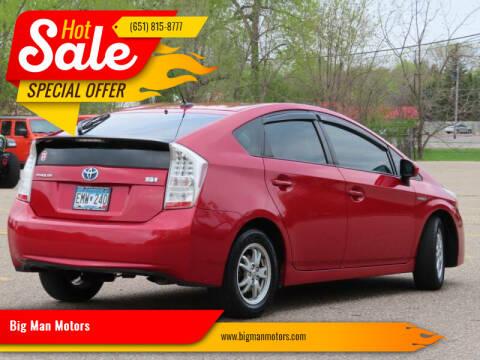 2010 Toyota Prius for sale at Big Man Motors in Farmington MN
