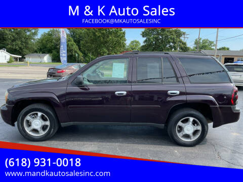 2008 Chevrolet TrailBlazer for sale at M & K Auto Sales in Granite City IL