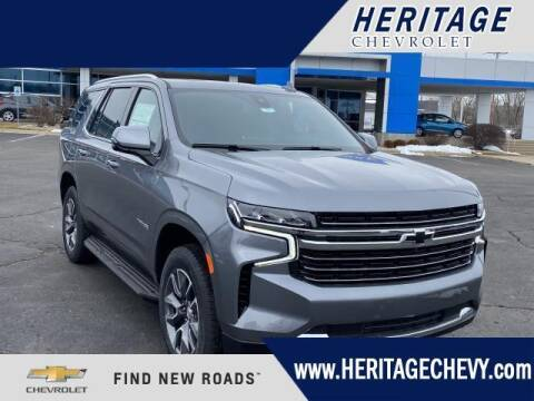 2021 Chevrolet Tahoe for sale at HERITAGE CHEVROLET INC in Creek MI