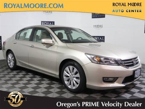 2013 Honda Accord for sale at Royal Moore Custom Finance in Hillsboro OR