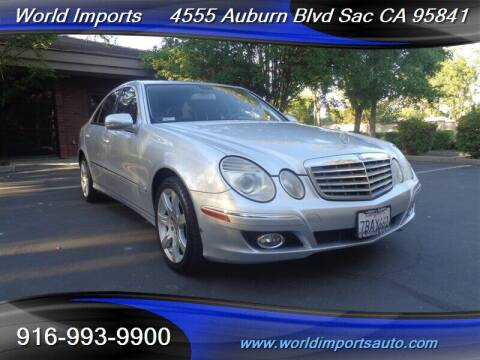 2008 Mercedes-Benz E-Class for sale at World Imports in Sacramento CA