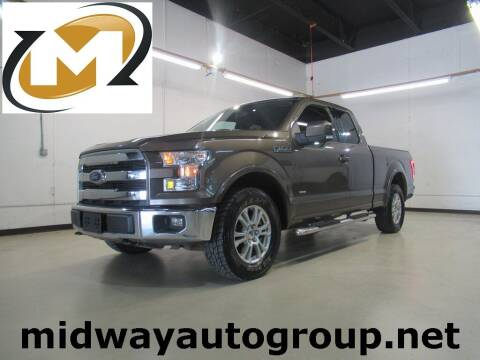 2016 Ford F-150 for sale at Midway Auto Group in Addison TX
