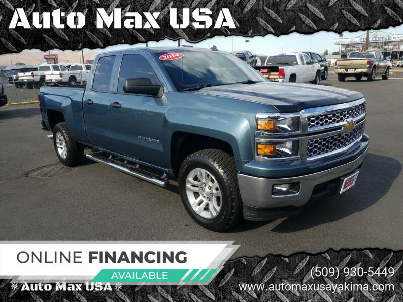 2014 Chevrolet Silverado 1500 for sale at Auto Max USA in Yakima WA