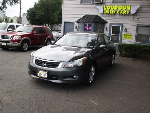 2009 Honda Accord for sale at Loudoun Used Cars in Leesburg VA