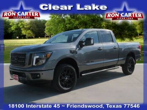 2019 Nissan Titan XD for sale at Ron Carter  Clear Lake Used Cars in Houston TX