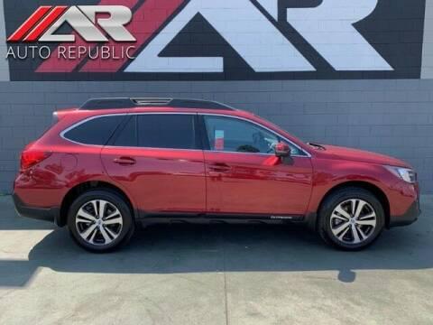 2018 Subaru Outback for sale at Auto Republic Fullerton in Fullerton CA