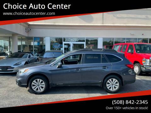 2015 Subaru Outback for sale at Choice Auto Center in Shrewsbury MA