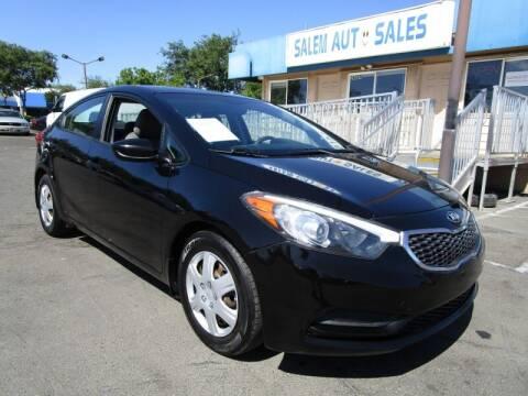2015 Kia Forte for sale at Salem Auto Sales in Sacramento CA