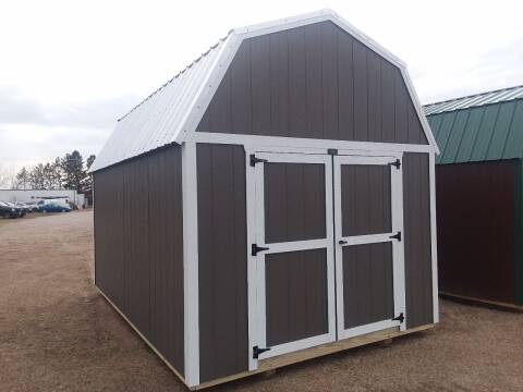 2021 PREMIER Portable Building's  Urethane Lofted Barn  for sale at Dave's Auto Sales & Service in Weyauwega WI