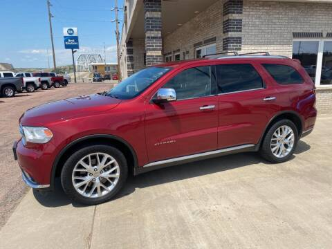 2014 Dodge Durango for sale at Willrodt Ford Inc. in Chamberlain SD