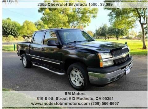 2005 Chevrolet Silverado 1500 for sale at BM Motors in Modesto CA