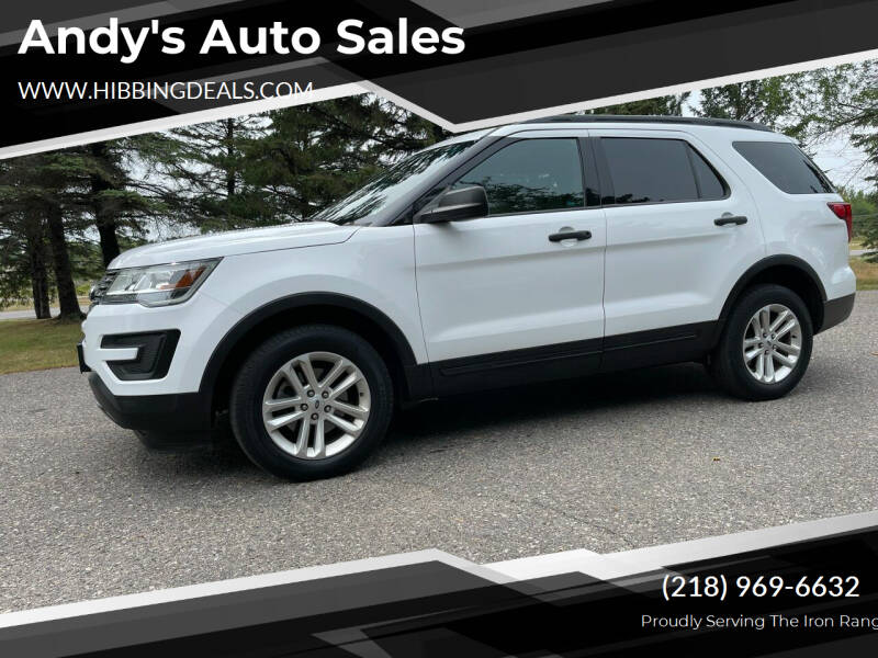 2017 Ford Explorer for sale at Andy's Auto Sales in Hibbing MN