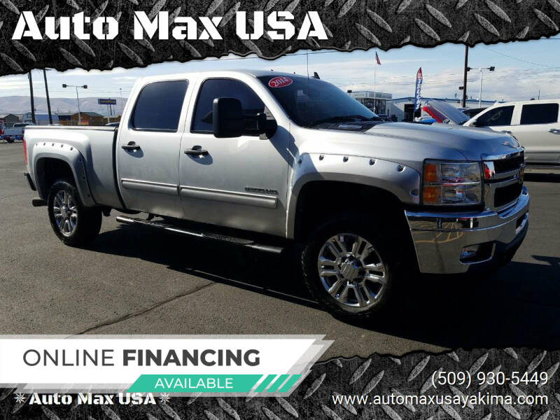 2014 Chevrolet Silverado 2500HD for sale at Auto Max USA in Yakima WA