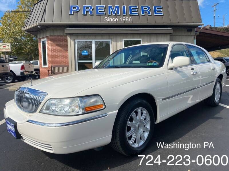 2007 Lincoln Town Car for sale at Premiere Auto Sales in Washington PA