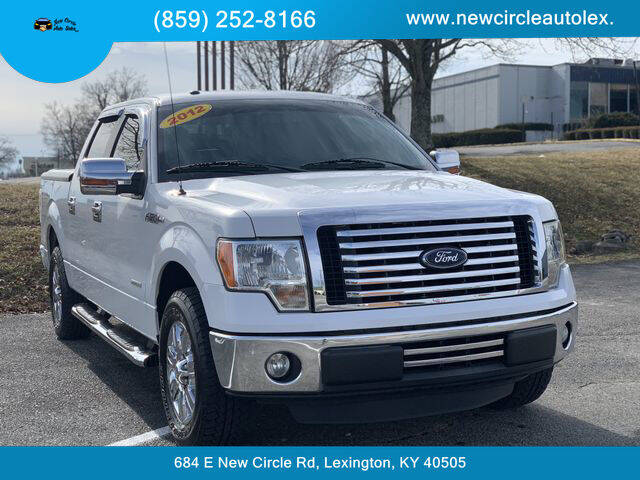 2012 Ford F-150 for sale at New Circle Auto Sales LLC in Lexington KY