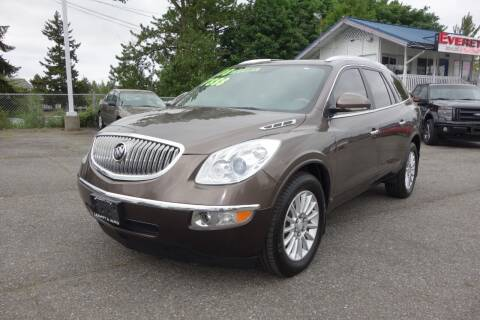 2008 Buick Enclave for sale at Leavitt Auto Sales and Used Car City in Everett WA