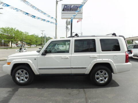 2008 Jeep Commander for sale at DeLong Auto Group in Tipton IN