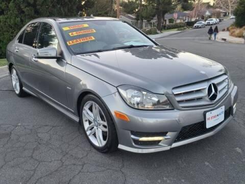 2012 Mercedes-Benz C-Class for sale at CAR CITY SALES in La Crescenta CA