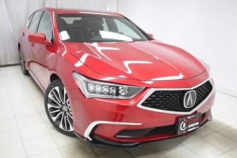 2018 Acura RLX for sale at EMG AUTO SALES in Avenel NJ