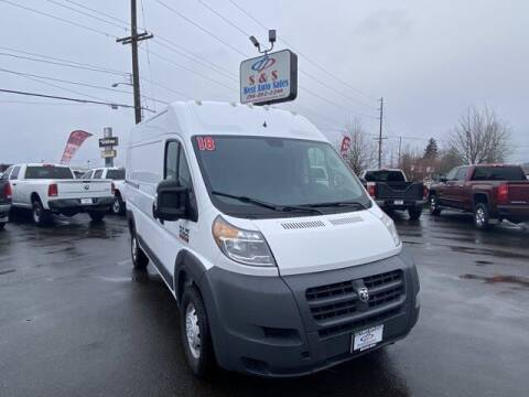 2018 RAM ProMaster Cargo for sale at S&S Best Auto Sales LLC in Auburn WA