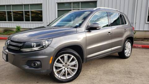 2012 Volkswagen Tiguan for sale at Houston Auto Preowned in Houston TX